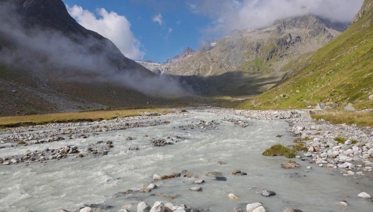 Am Weg zum Alpeiner Ferner