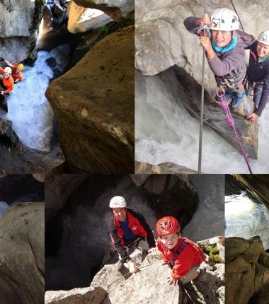Ein kleines Stück Abenteuer , der Höllenrachen Klettersteig!