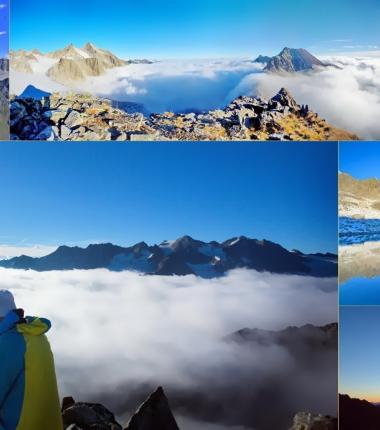 Man benötigt wirklich ab und zu einen neuen Standpunkt um die Welt wieder mit anderen Augen zu sehen! Wo könnte das besser gelingen als auf einem Berggipfel über den Wolken.