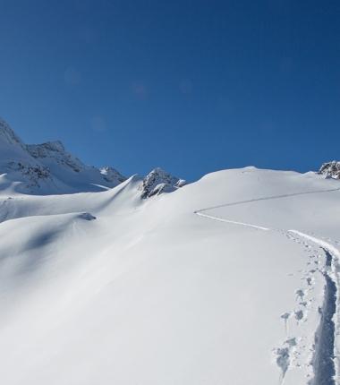 Seit vielen Jahren nicht mehr, die diesjährige Schneelage läßt keine Wünsche offen.