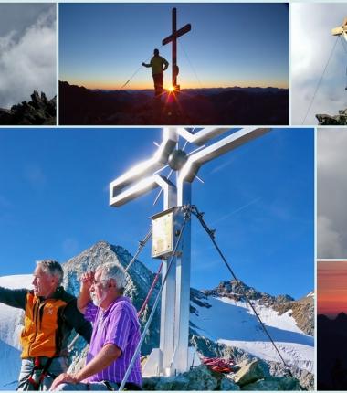 Ob Gletscher oder Klettertour, viele Ziele sind im Umfeld der Hütte zu finden.