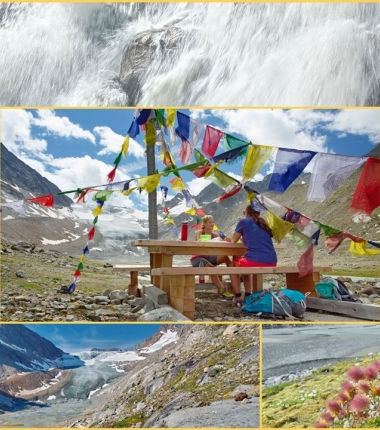 Wilde Wasserweg zum Alpeiner Ferner