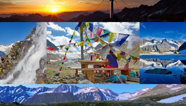 Bergwandern ist nicht gleich Wandern in den Bergen! Bergwandern ist eine Stufer höher angesiedelt.