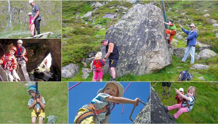 Auch der Kletterigel ist gefrag1 Auch wenn diese etwas weiter weg von der Hütte liegt!