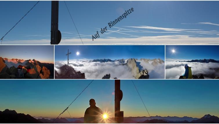 Mäßig schwierige Gipfeltour! 3 Std. ab der Hütte - Klettersteigausrüstung wird empfohlen!