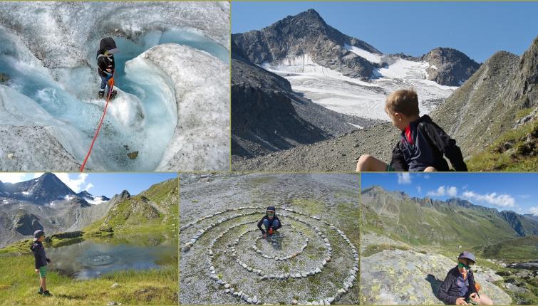 Wanderung zum Sommerwandferner (Gletscher)