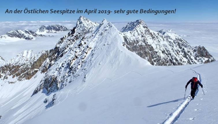 3 stolze Gipfel! Südliche, Mittlere und Nördl.Kräulspitze!