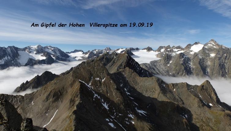 Für den Großteil der am Bild zu sehenden Gipfel ist die Franz Senn Hütte der Ausgangspunkt!