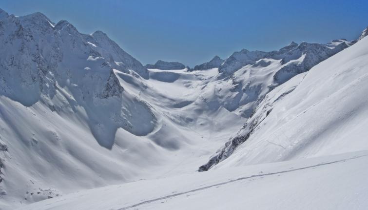 Blick zum Alpeiner Ferner