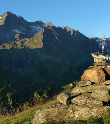 Ausblicke wie diese bietet die Natur im Bereich der Franz Senn Hütte jede Menge!