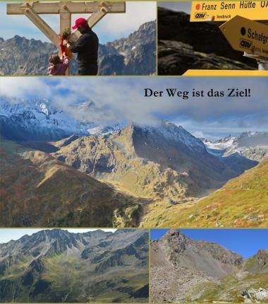 Was Sie wissen sollten! Bergwanderwege unterscheiden sich was die Schwierigkeiten betrifft stark von üblichen wanderwegen in Talnähe!!