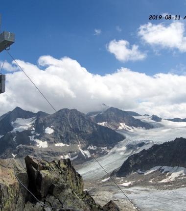 Der Vorder Turm ist auf Grund des Gletscherrückganges für versierte Berggeher ab den Aperen Turm gut machbar!